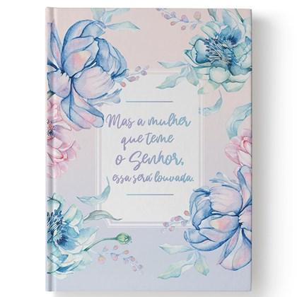 Bíblia Floral A Mulher que teme | NAA | Letra Normal | Capa Dura