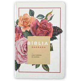 Bíblia Floral | ARC | Letra Normal | Capa Dura