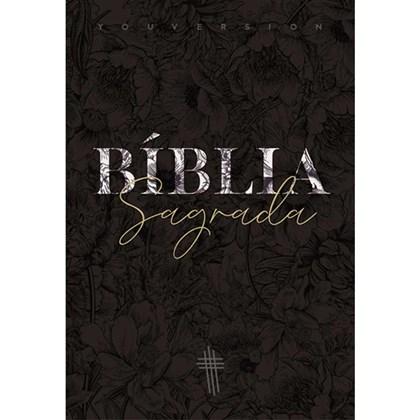 Bíblia Floral Mix YouVersion | NTLH | Letra Grande | Capa Soft-Touch
