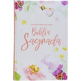 Bíblia Floral | NAA | Letra Grandel | Capa Dura