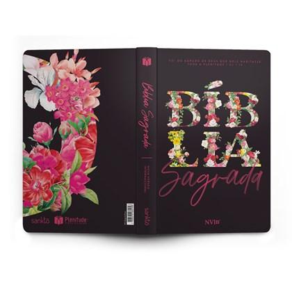 Bíblia Floral Primavera | NVI | Letra Normal | Capa Dura