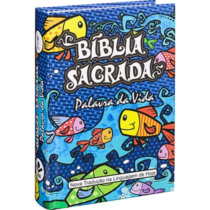 Bíblia Ilustrada Palavra Da Vida   Letra Maior   NTLH   Capa Dura
