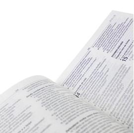 Bíblia Jesus é Minha Ancora | Letra Normal | NAA | Capa Dura