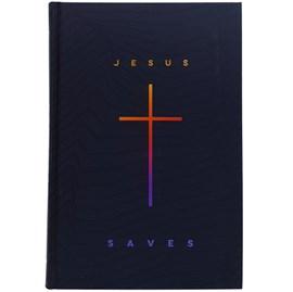 Bíblia Jesus Saves | NAA | Letra Grande | Capa Dura