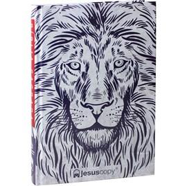 Bíblia JesusCopy Leão Branco   NAA   Capa Dura
