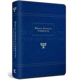 Bíblia Judaica Completa | Letra Normal | Capa Luxo Azul