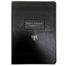 Bíblia Judaica Completa | Letra Normal | Capa Luxo Preta