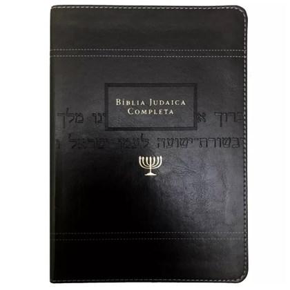 Bíblia Judaica Completa   Letra Normal   Capa Luxo Preta