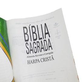 Bíblia Juventude AD do Brasil | ARC | Letra Normal | Harpa Cristã | Capa Dura Preta