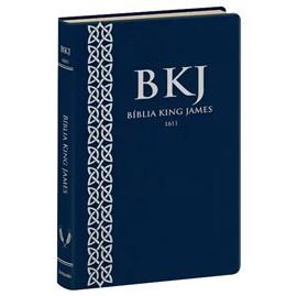 Bíblia King James 1611 | Fiel | Ultrafina Azul