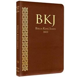 Bíblia King James 1611 | Fiel | Ultrafina Marrom