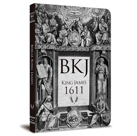 Bíblia King James 1611 Ultra Fina Lettering Bible | Letra Normal | Capa Tradicional Retrô