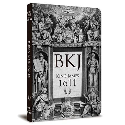 Bíblia King James 1611 Ultra Fina Lettering Bible | Letra Normal | Capa Tradicional Retrô