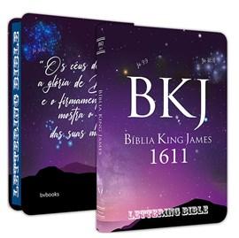 Bíblia King James 1611 Ultra Fina Lettering Bible | Letra Normal | Capa Universo