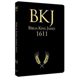 Bíblia King James 1611 Ultrafina Ampliada   Letra Normal   Capa Preta