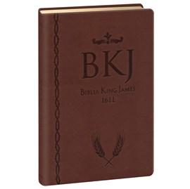 Bíblia King James 1611 Ultrafina Gigante | Marrom