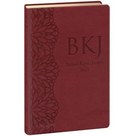 Bíblia King James 1611 Ultrafina Gigante | Vinho