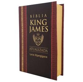Bíblia King James Atualizada | KJA | Letra Hipergigante | Capa Dura Clássica