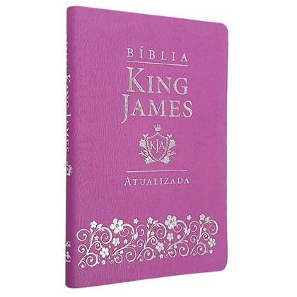 Bíblia King James Atualizada Slim | KJA | Lilás