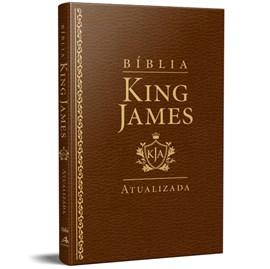 Bíblia King James Atualizada Slim | KJA | Marrom