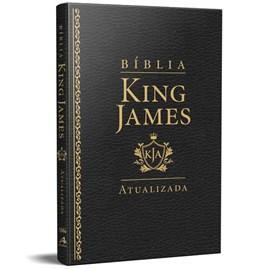Bíblia King James Atualizada Slim | KJA | Preta