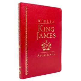 Bíblia King James Atualizada Slim | KJA | Vermelha