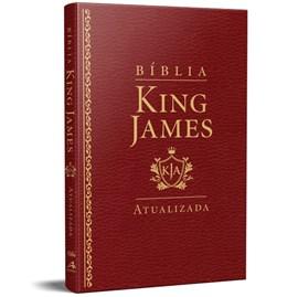 Bíblia King James Atualizada Slim | KJA | Vinho