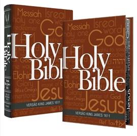 Bíblia King James Fiel 1611 | BKJ | Letra Normal | Capa Holy Bible Concordância e Pilcrows