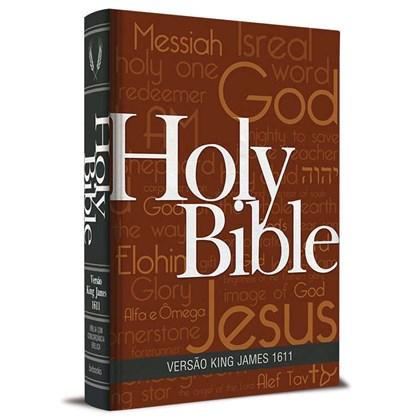 Bíblia King James Fiel 1611   BKJ   Letra Normal   Capa Holy Bible Concordância e Pilcrows