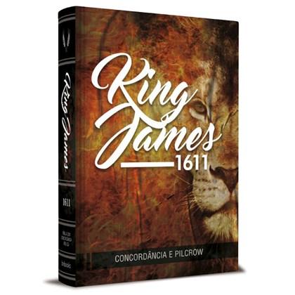 Bíblia King James Fiel 1611 | BKJ | Letra Normal | Capa Leão Concordância e Pilcrows