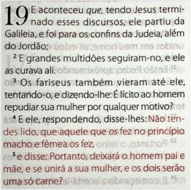 Bíblia King James Fiel 1611 | BKJ | Letra Normal | Luxo Marrom Concordância e Pilcrows