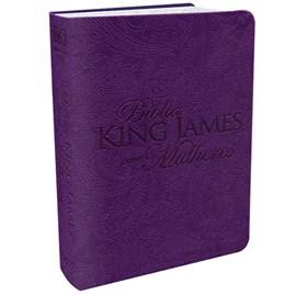 Bíblia King James Para Mulheres BKJ | Roxo