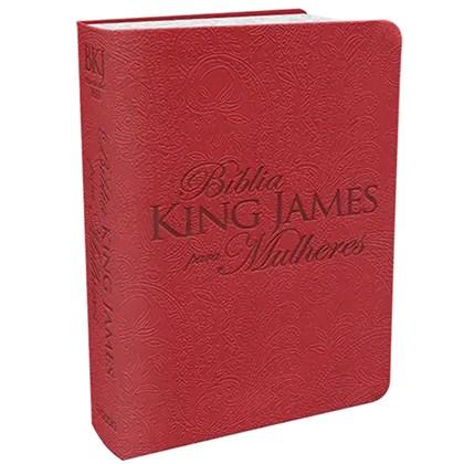 Bíblia King James Para Mulheres BKJ | Vermelho