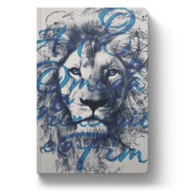 Bíblia Leão Alfa e Ômega | NVT | Letra Normal | Capa Dura