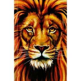 Bíblia Leão Color | ARC | Letra Normal | Harpa e Corinhos | Capa Dura