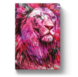 Bíblia Leão Colorido Rosa YouVersion | NTLH | Letra Média | Capa Soft-Touch
