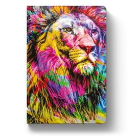 Bíblia Leão Colorido YouVersion   NTLH   Letra Grande   Capa Soft-Touch