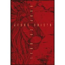 Bíblia Leão de Judá   NVT   Letra Normal   Capa Dura Vermelho