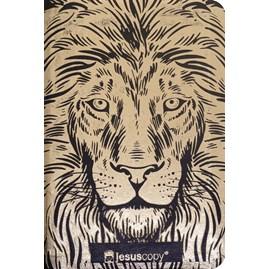 Bíblia Leão Dourado Jesus Copy | NVI | Capa Luxo