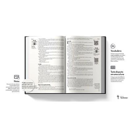 Bíblia Leão Gelo YouVersion | NTLH | Letra Grande | Capa Soft-Touch