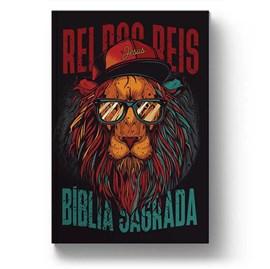 Bíblia Leão Hip Hop   NAA Letra Normal   Capa Dura Soft-Touch