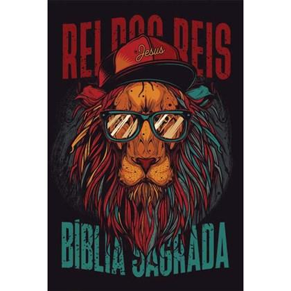 Bíblia Leão Hip Hop | NAA Letra Normal | Capa Dura Soft-Touch