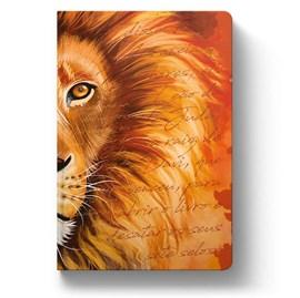 Bíblia Leão Laranja | ACF | Letra Grande | Capa Dura Soft Touch