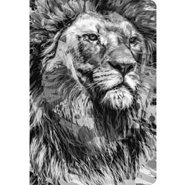 Bíblia Leão Preto e Branco YouVersion | NTLH | Letra Grande | Capa Soft-Touch