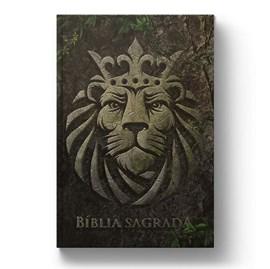 Bíblia Leão Rocha | NAA | Letra Normal | Capa Dura