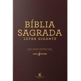 Bíblia Leitura Perfeita NVI | Letra Gigante | Marrom