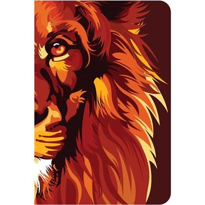 Bíblia Lion Color Fire   NVT   Capa Dura
