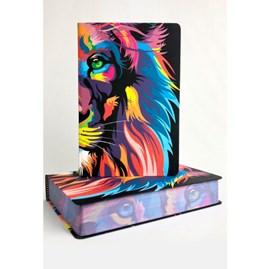 Bíblia Lion Color | NVT Letra Grande | Capa Soft Touch