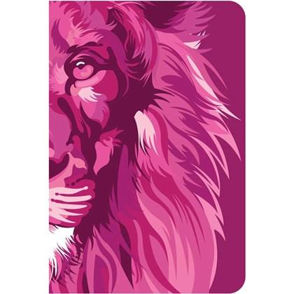 Bíblia Lion Color | NVT | Letra Normal  | Capa Dura Pink