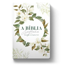 Bíblia Magnólia Branca | ACF | Letra Grande | Capa Dura Soft Touch